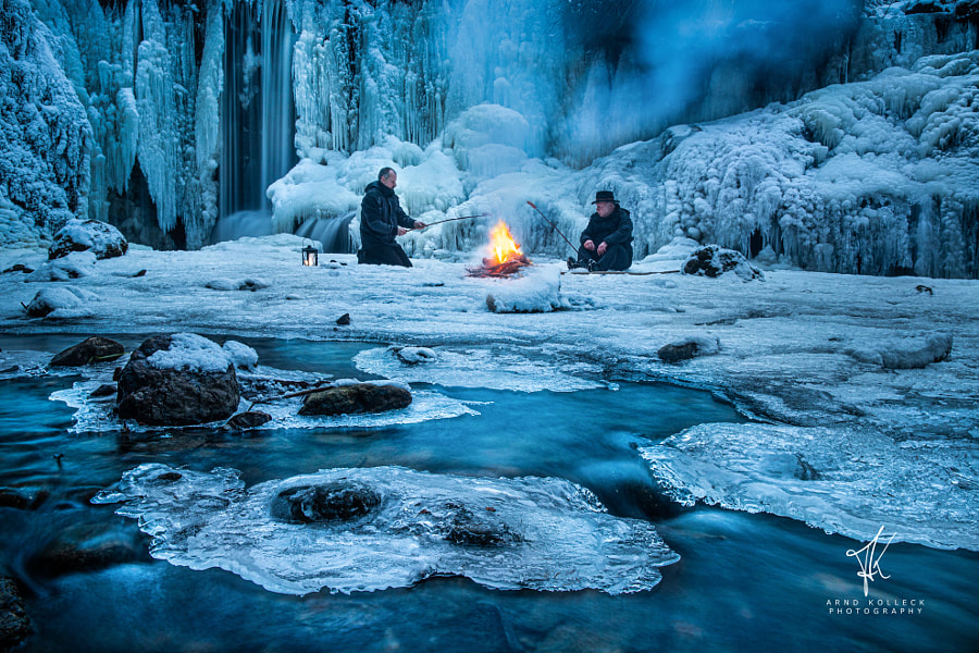Arctic Bonfire by Arnd Kolleck on 500px.com
