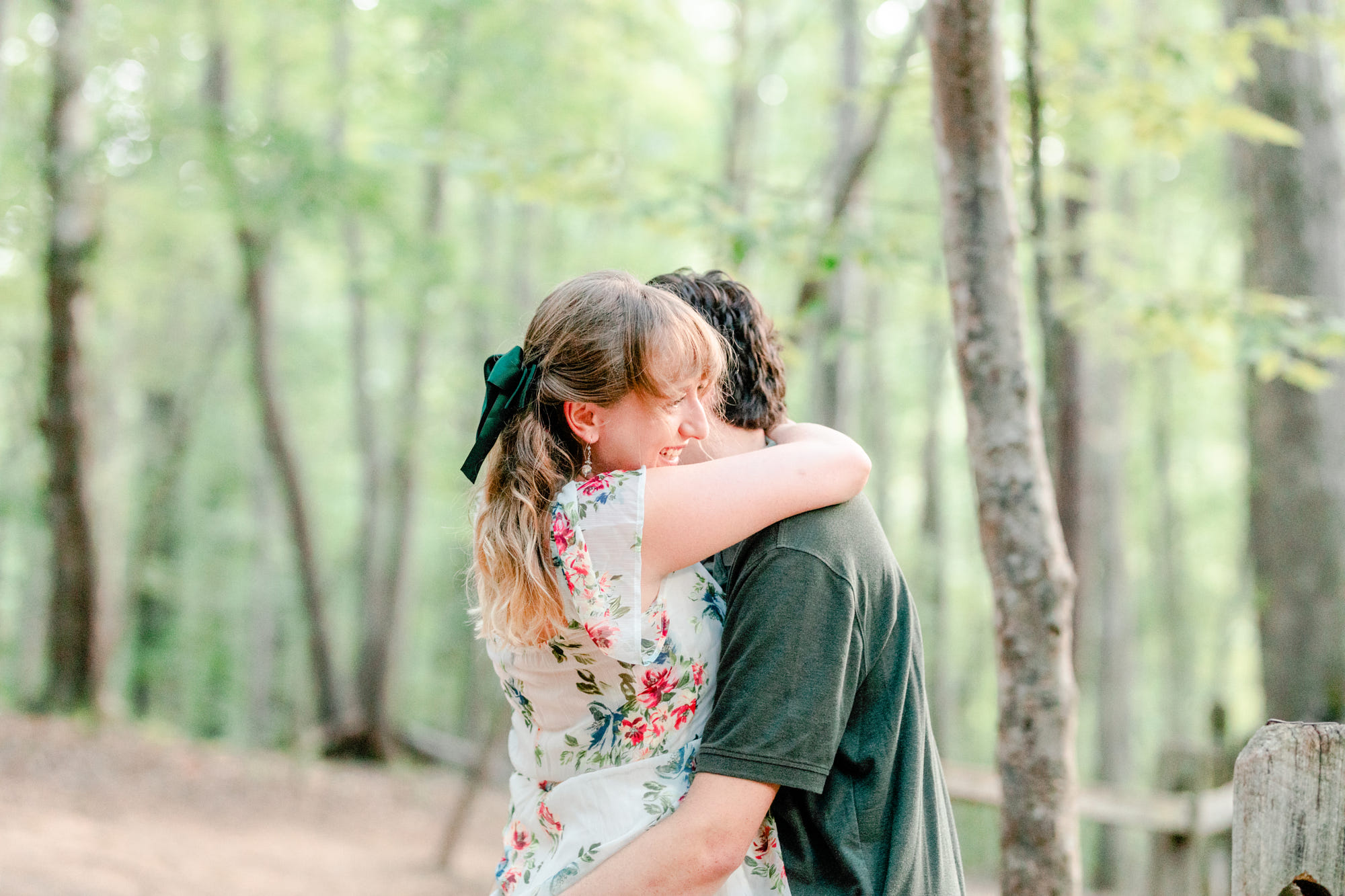 Eno river engagement session