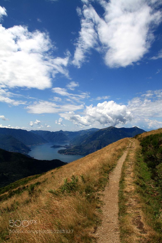 Photograph Sentiero vista lago by Marco Marescotti on 500px