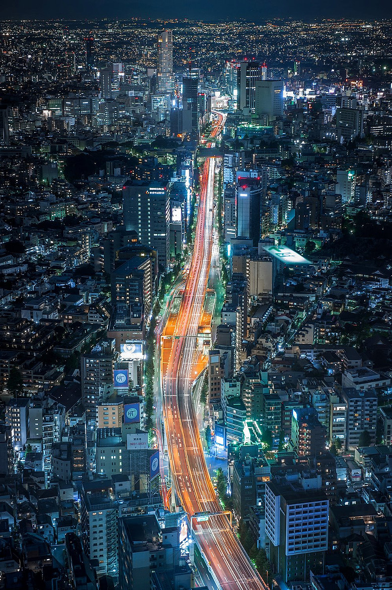 Photograph Tokyo City by Coolbiere. A. on 500px