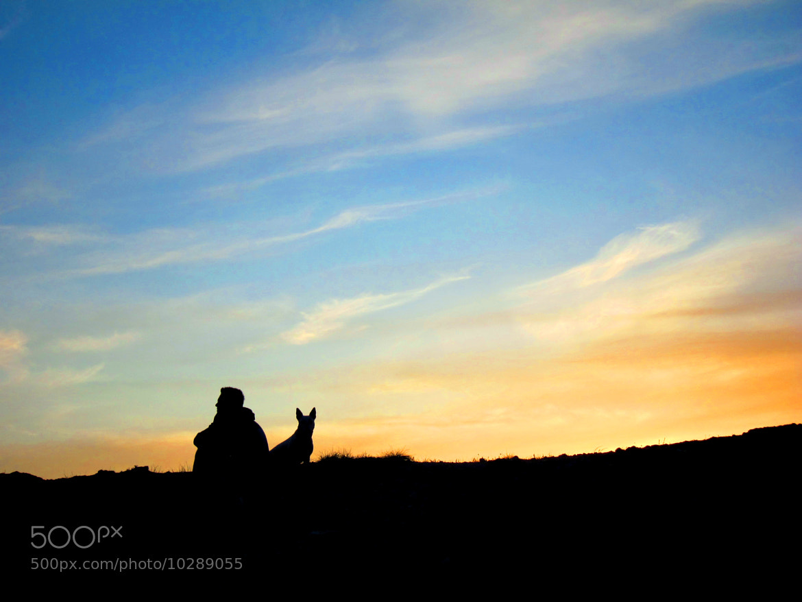 Photograph Man and his best friend by Just for fun on 500px