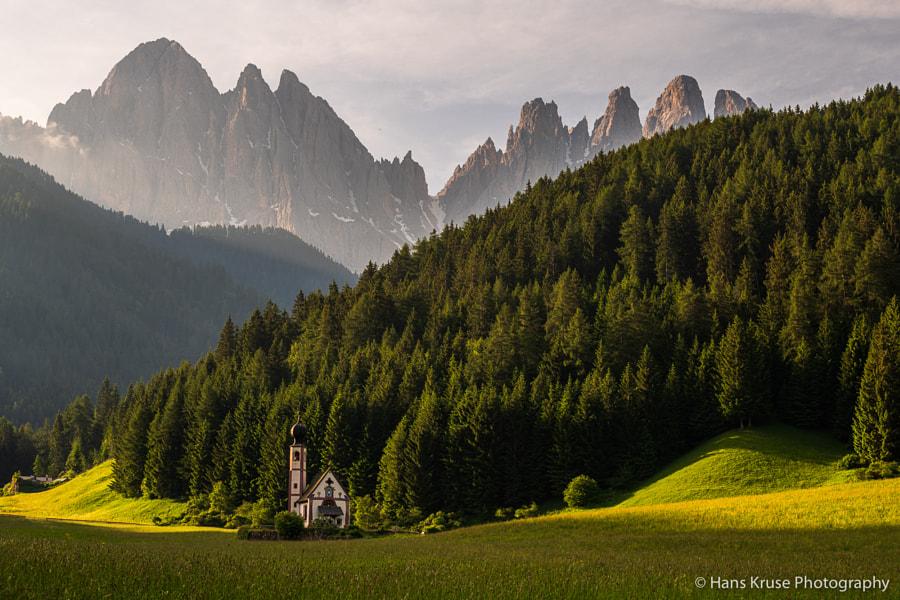 The little church by Hans Kruse on 500px.com