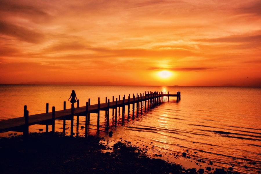 Kep Sailing Club sunset by Paul Szewczyk on 500px.com