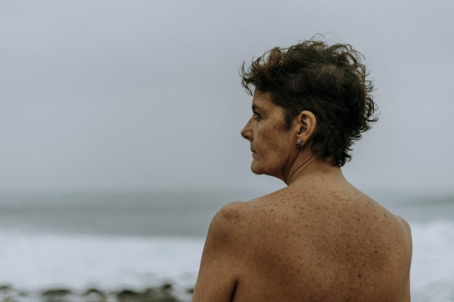 Mujer de arena y sal by Camila Boggio on 500px.com