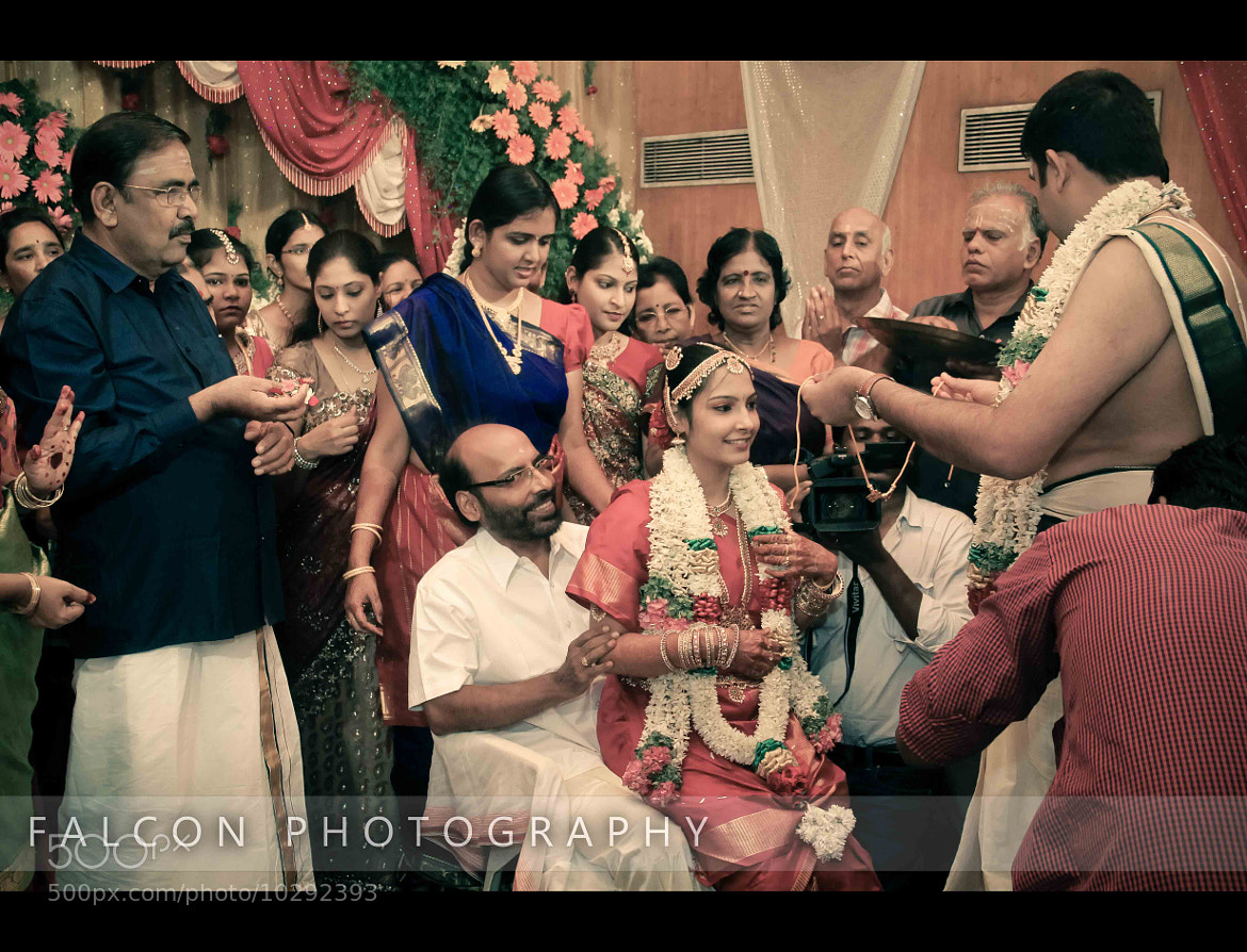 Photograph The south Indian Marriage. by Falcon Fotography on 500px