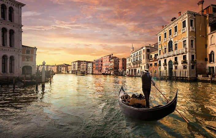 a ride through Venice by carsten bachmeyer