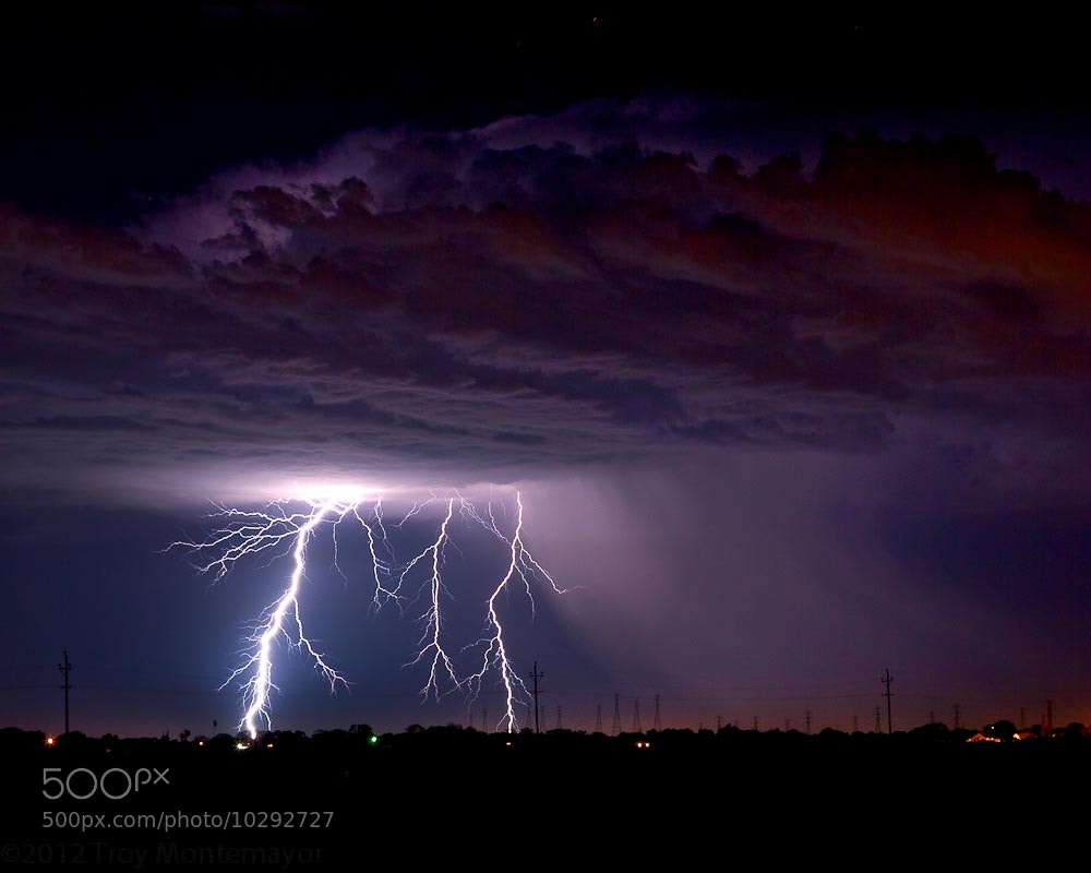 Photograph Summer Thunderstorm, Landscape, San Joaquin Valley, CA by Troy Montemayor on 500px