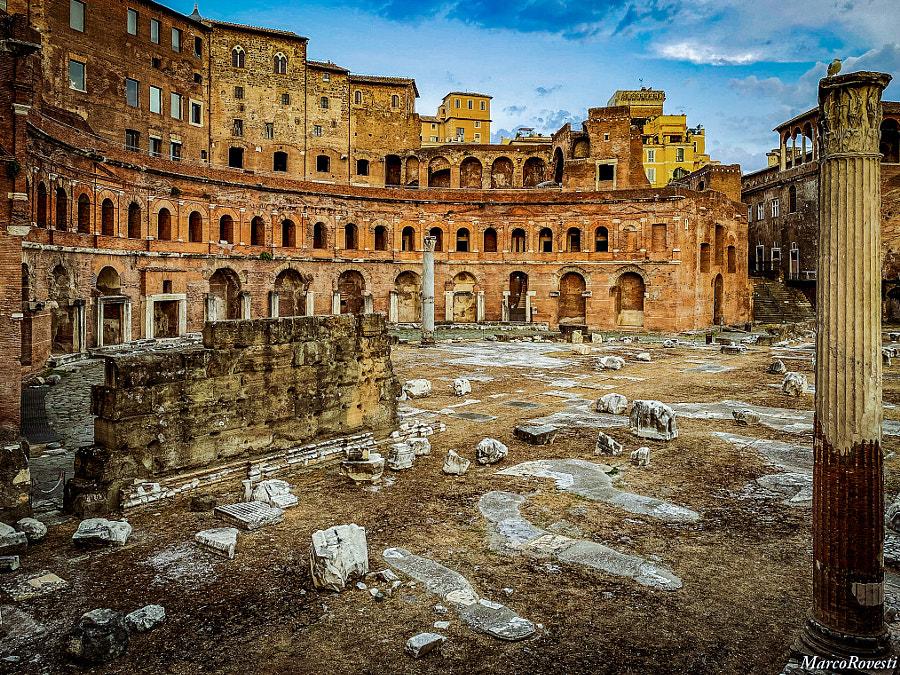 Trajan Markets (Roma) by Marco Rovesti on 500px.com