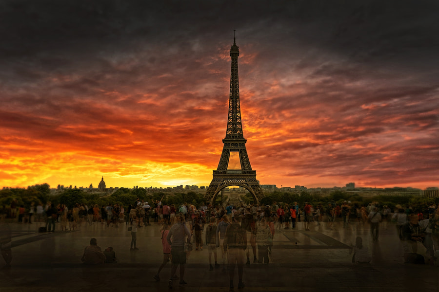 Early Morning Eiffel Tower by Howard Walsh on 500px.com