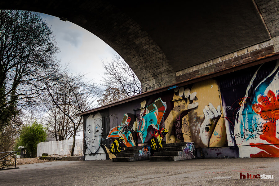 Photograph Under a Bridge by hitzestau on 500px