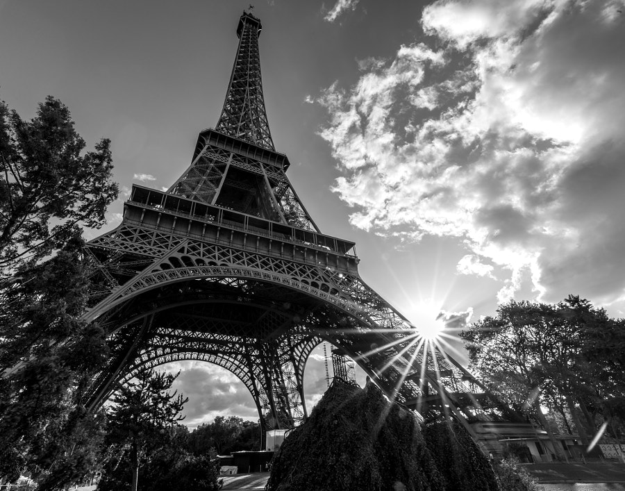 Grandeur of Light and Tower by Ariel L on 500px.com