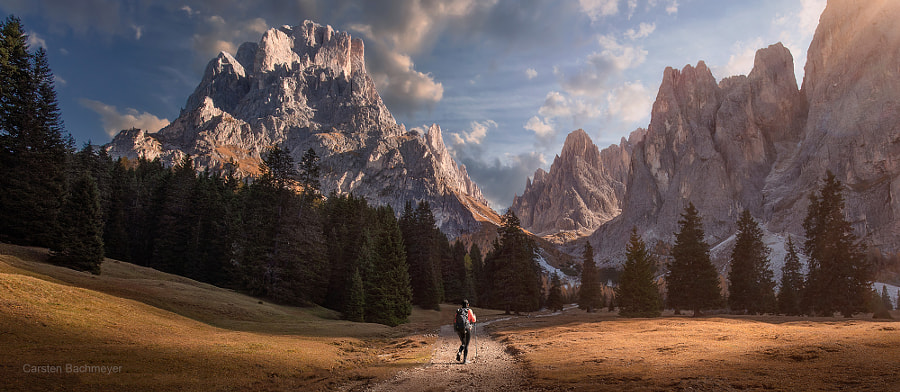 Going in the mountains again by carsten bachmeyer on 500px.com