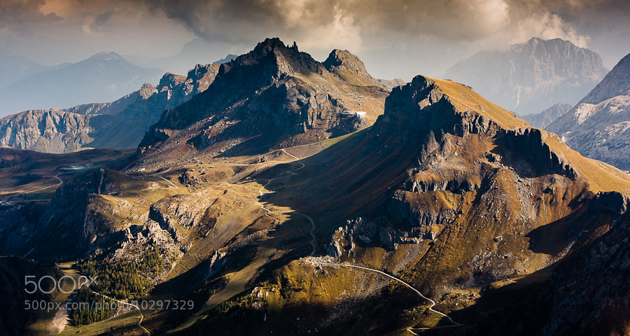 """<a href=""""http://www.hanskrusephotography.com/Workshops/Dolomites-Workshop-Oct-8-12-12/18012376_JfTs4d#!i=1957245105&k=d8zr9Wg&lb=1&s=A"""">See a larger version here</a>  This photo was taken while preparing for a photo workshop in the Dolomites."""