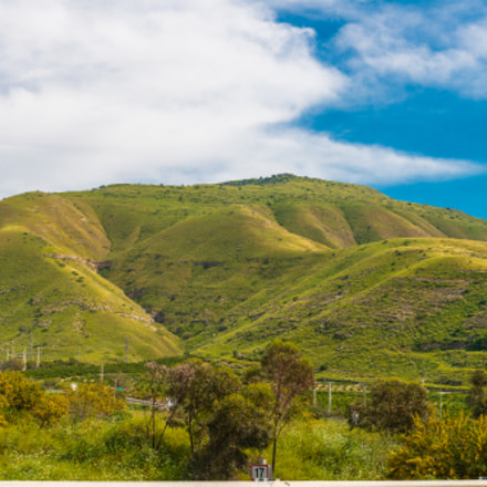 The slopes of the Golan Hights