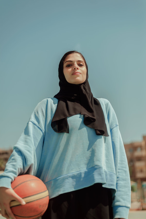 Menna, Basketball player in Egypt  by Eman Mansour on 500px.com