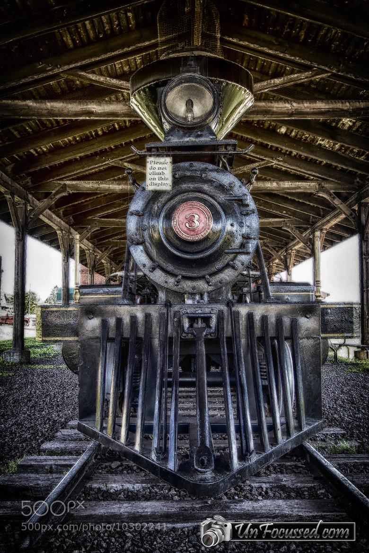 Photograph Iron Range Railroad Company Train by Bill Tiepelman on 500px