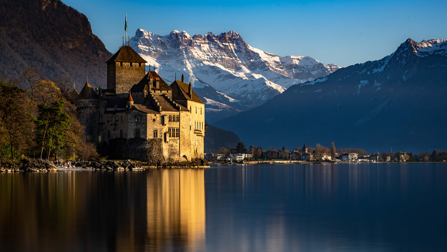 Late Afternoon at the Chillon Castle by 🇨🇭 Daniel 🇨🇭 on 500px.com