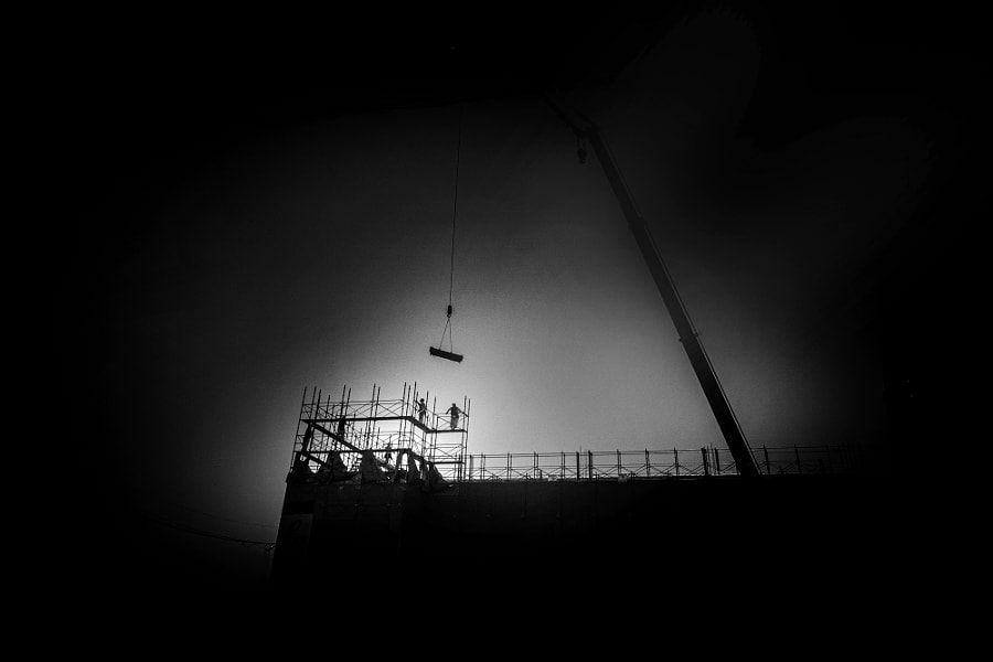 Construction site by minoru karamatsu(柄松稔) on 500px.com