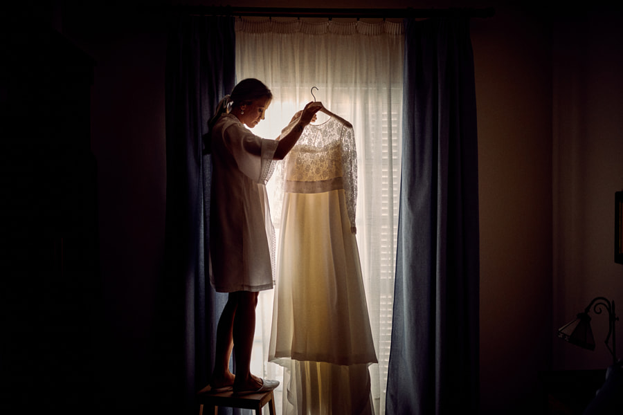 Wedding dress by Antonio Díaz on 500px.com