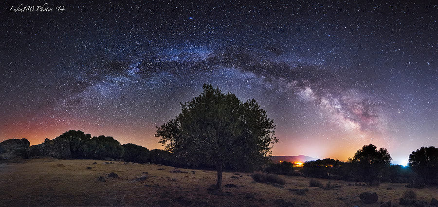 Under the Milkyway (pano)