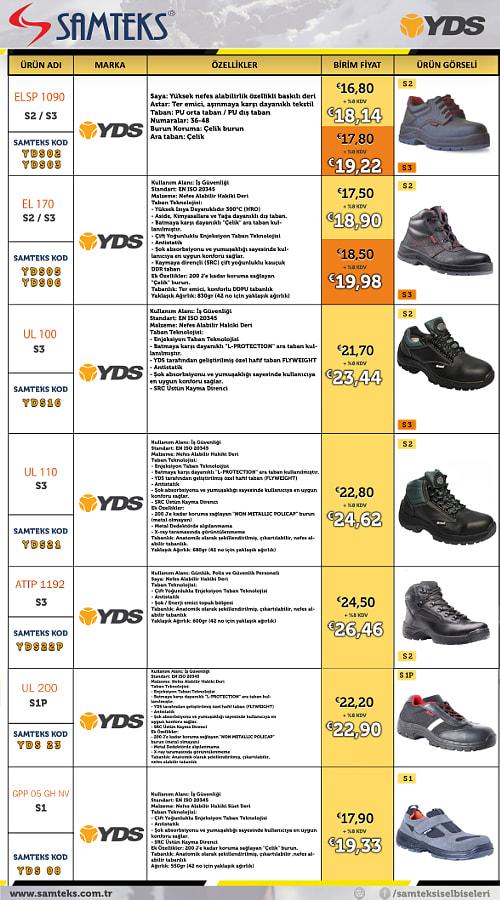ayakkabı fiyat listesi2018-2.cdr by Uğur Bey on 500px.com
