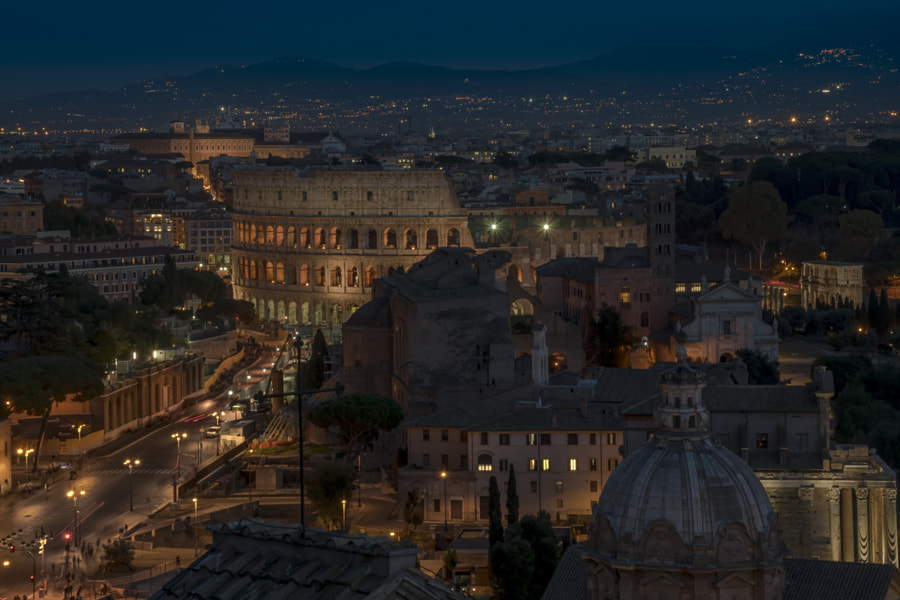 Colosseo - Roma by Dominique Lacaze on 500px.com