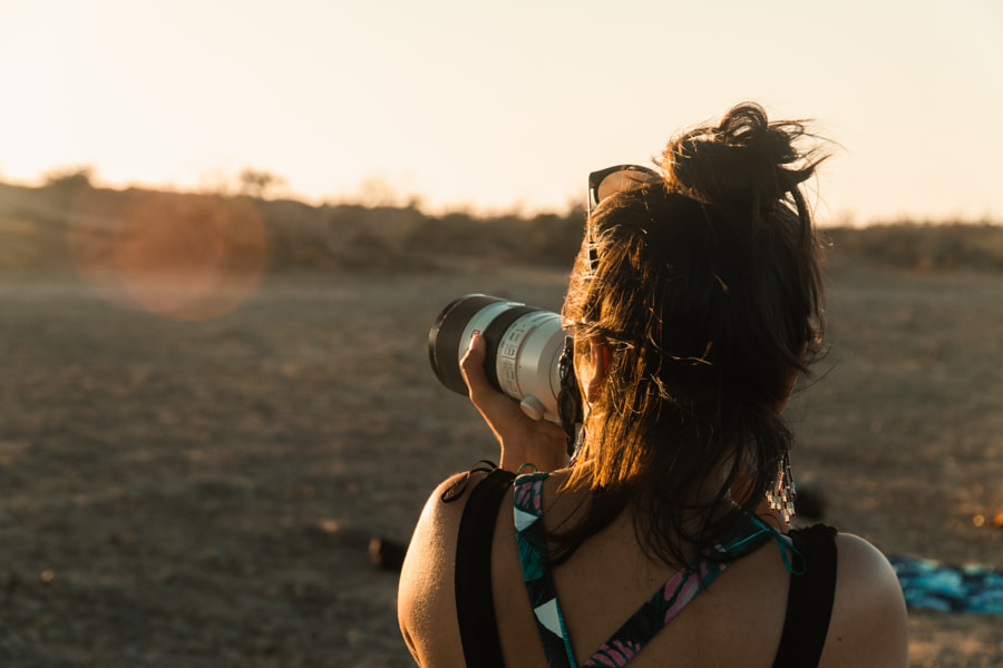 Female Photographer Taking Photos in the Desert | @LostBoyMemoirs by Ryan Brown | @lostboymemoirs on 500px.com