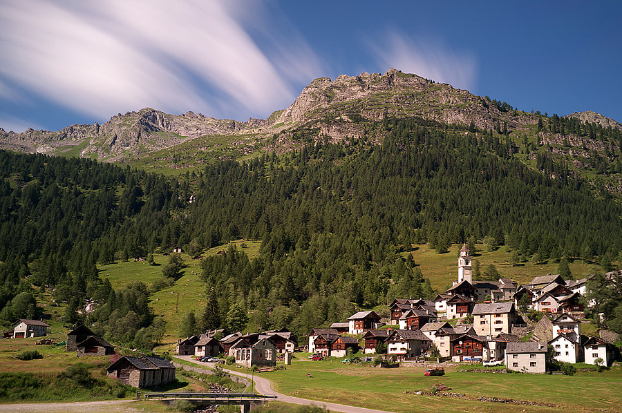 Photograph Bosco Gurin, CH. by Michele Galante on 500px