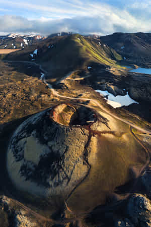 The Crater - Iceland by Daniel Gastager