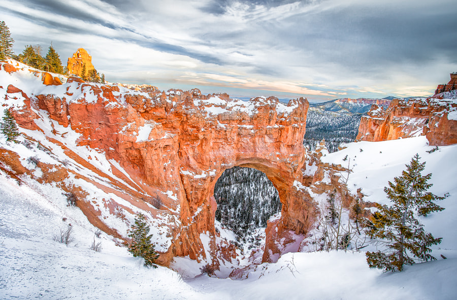 Photograph Snowy Portal by Valerie Millett on 500px