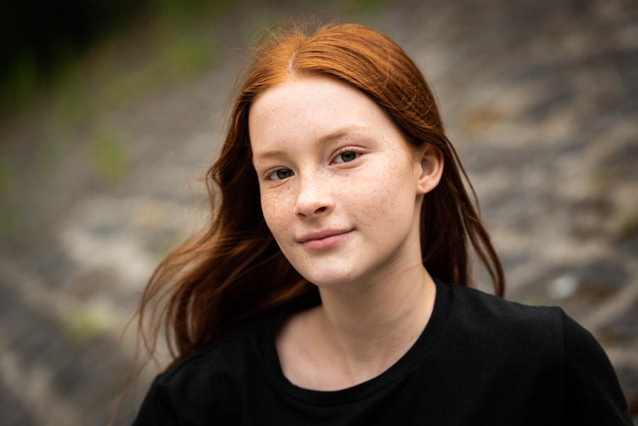 Redhead teenage girl by Werner Lerooy on 500px.com