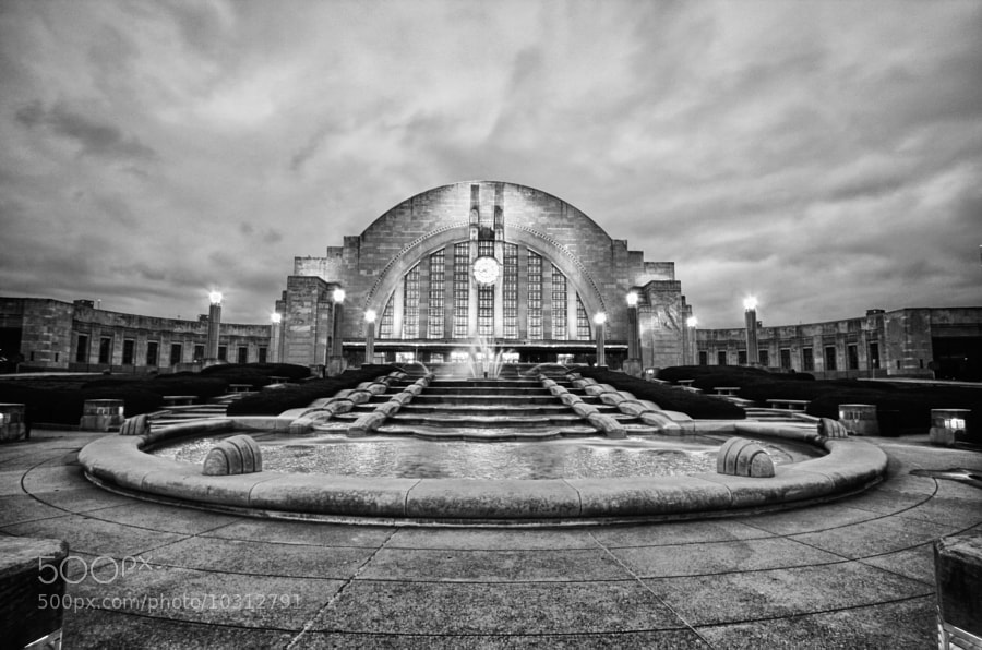 Photograph Cincinnati Union Terminal by Cathy  Donohoue on 500px