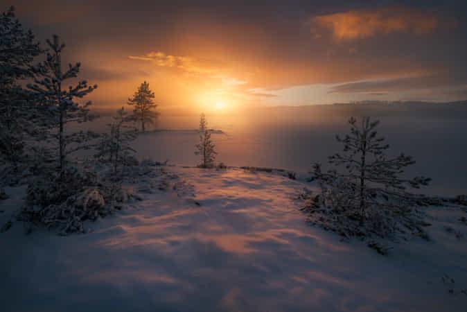 Frost Smoke by Ole Henrik Skjelstad
