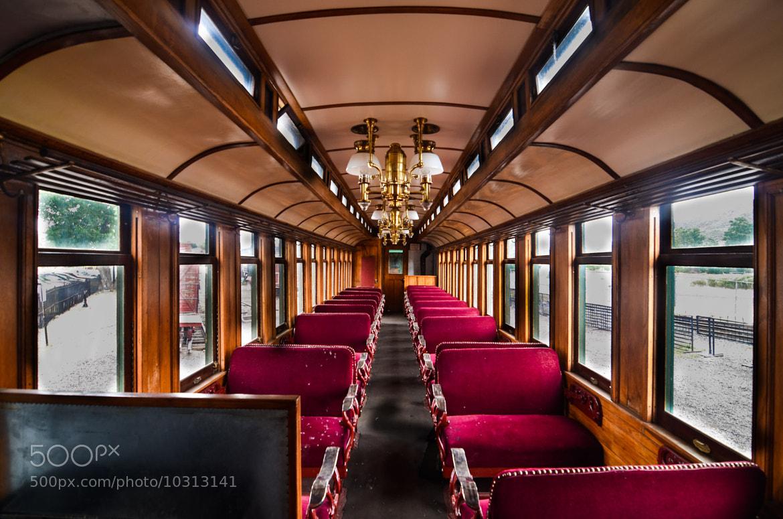 Photograph Train Car Tunnel by David Tomanovich on 500px
