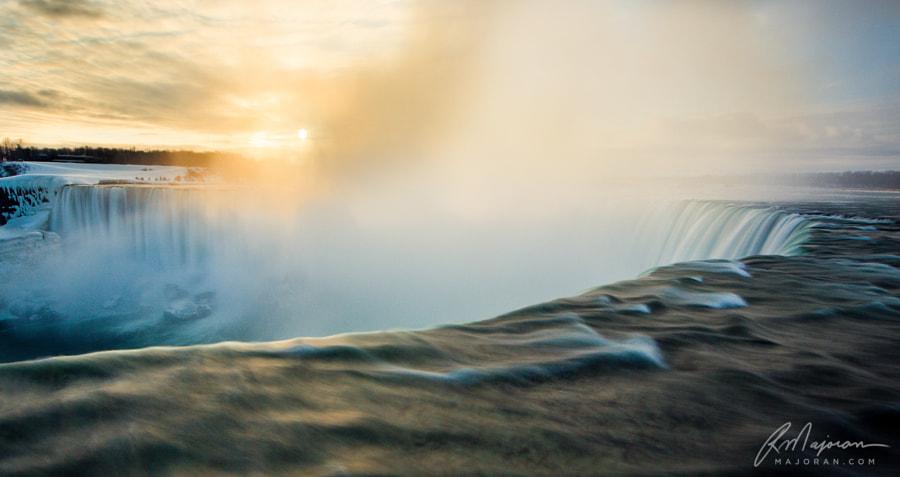 Waterfall Sunrise