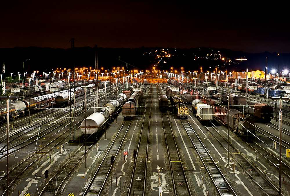 Photograph Night Train by M@rco . on 500px
