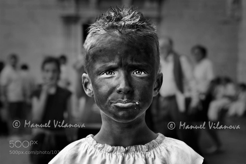 Photograph Retrato con migas by Manuel Vilanova on 500px