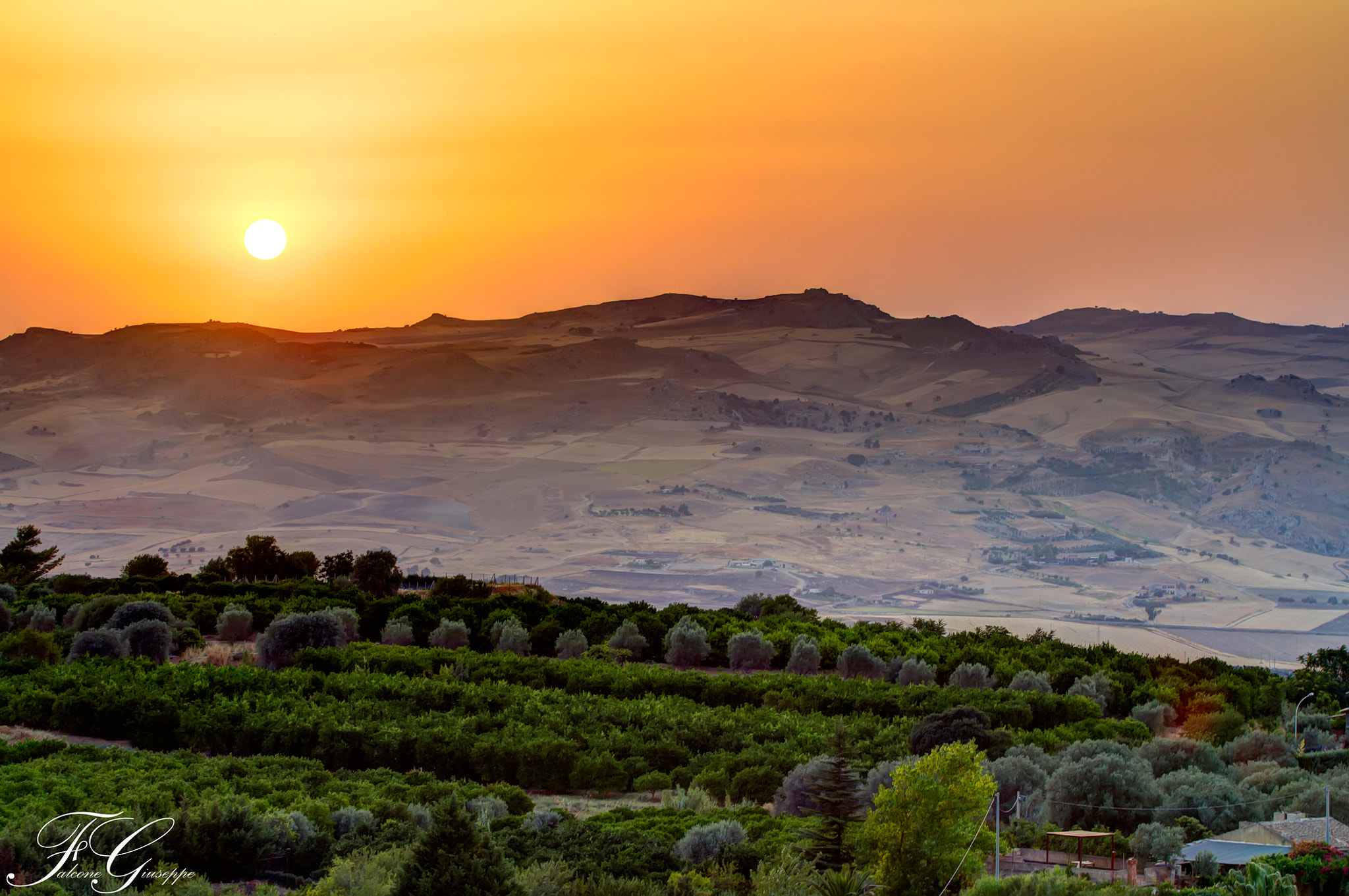 Photograph Sicily Sunset by Falcone Giuseppe on 500px