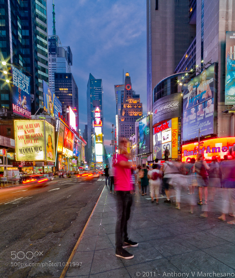 Photograph Times Square by Tony Marchesano on 500px