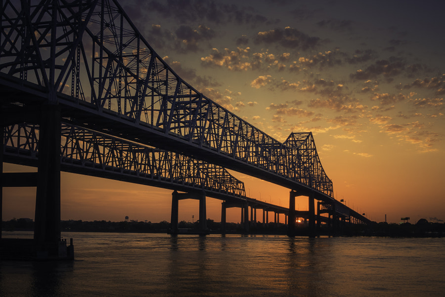 Sunrise over the Mississippi by Dorothy Cutter on 500px.com