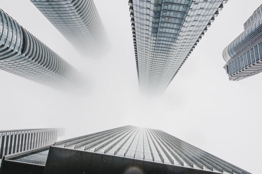 Foggy Toronto Lookup by Zak Nuttall on 500px.com