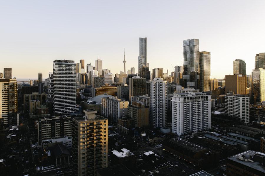Bright Toronto Skyline by Zak Nuttall on 500px.com