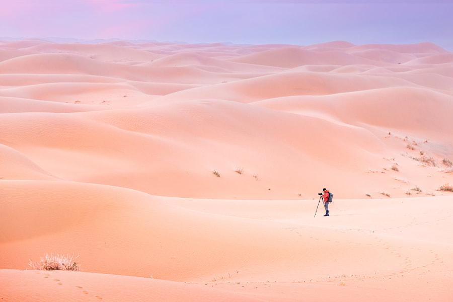 沙漠中的摄影人 by 西门  on 500px.com