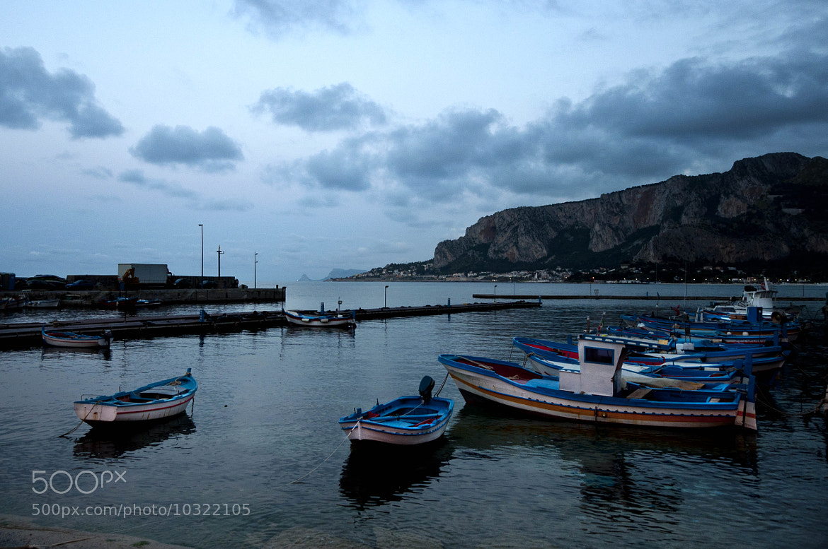 Photograph Fishing boats at sunset by Francesco Zappalà on 500px