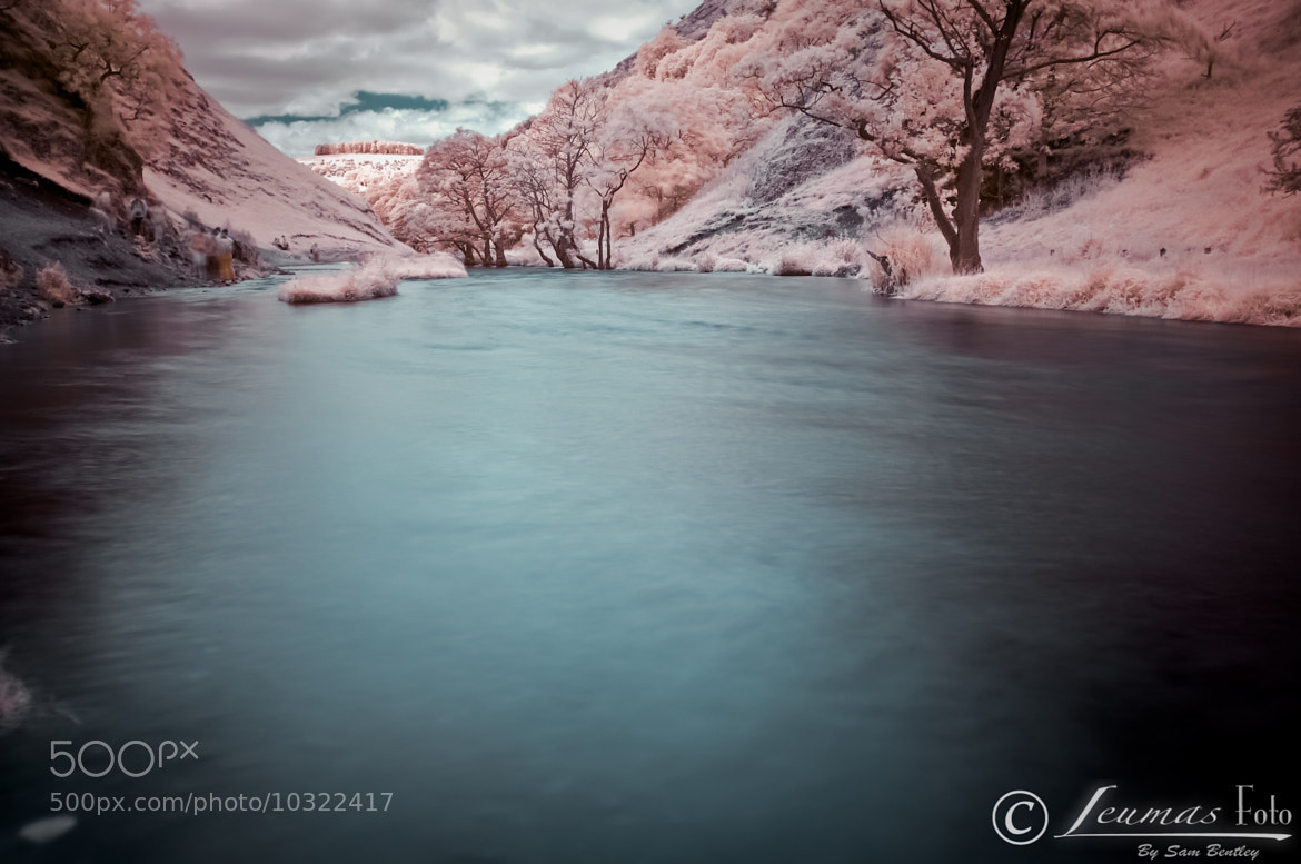 Photograph Water at Dovedale in Infrared by Sam Bentley on 500px
