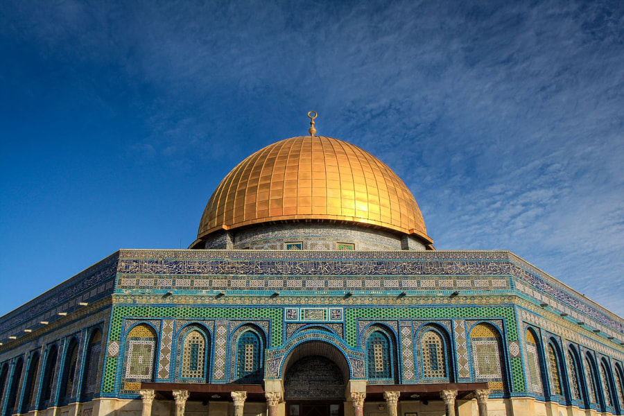 dome of the rock by Jamin Hübner on 500px.com