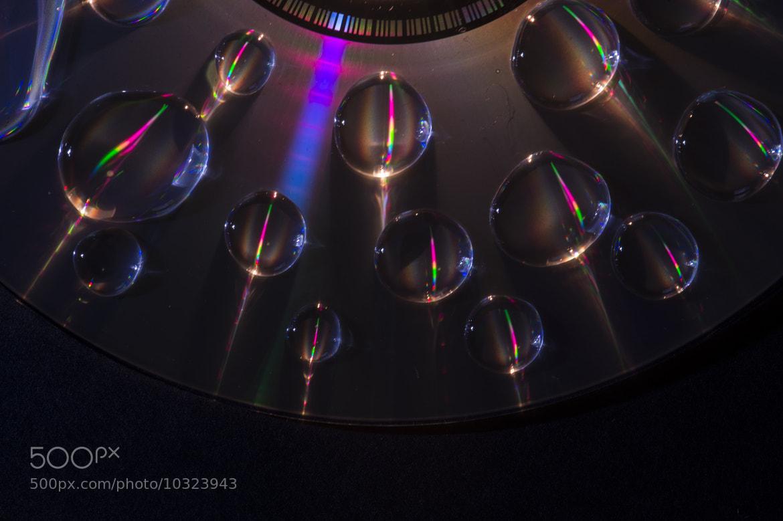 Photograph Wet CD by Ian Hamilton on 500px