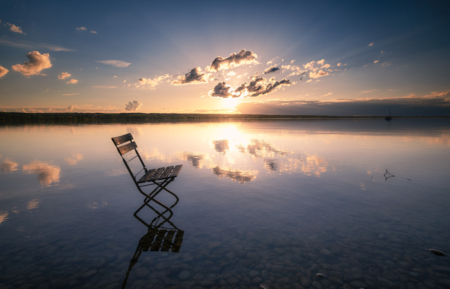Lonely in the Light of the Sunset  by Michael  Bottari on 500px.com