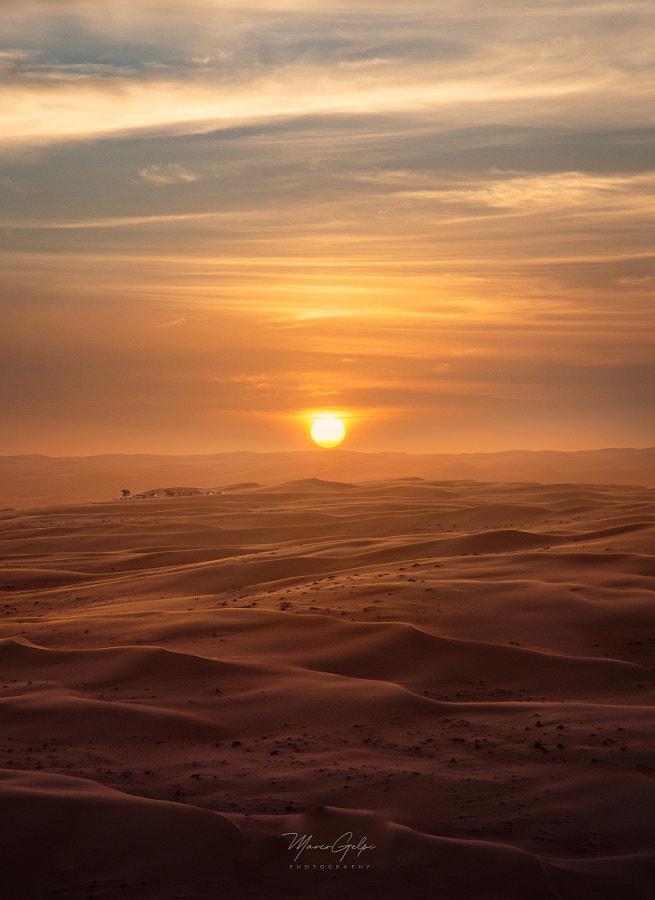 Desert sunset by Marco Gelpi on 500px.com