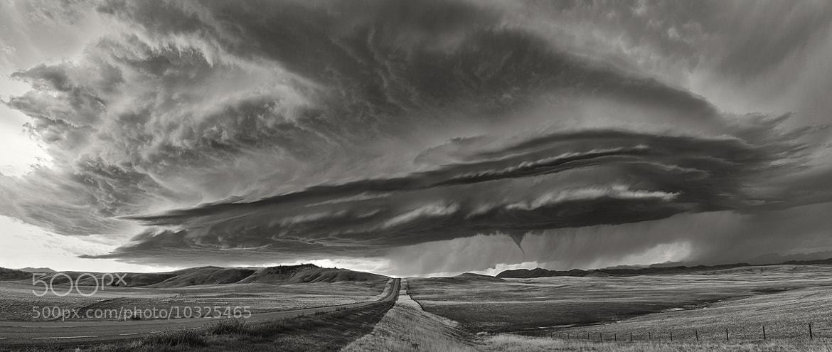 Photograph Mothership Supercell by Antony Spencer on 500px